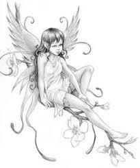 midsummer fairies bluebell small 8 5x11 art print by caseyrobinart