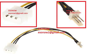cpu fan 4 pin to 3 pin 4 pin molex male to 12v 3 pin male end 11 27 2018 8 15 pm