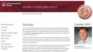Neue K He Preis Heinrich Wieland Preis In Neuem Glanz Trilobit Internet Aus