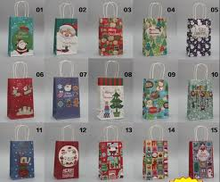christmas paper bags aliexpress buy new arrival merry christmas paper bags with