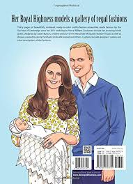 amazon kate duchess cambridge royal fashions coloring