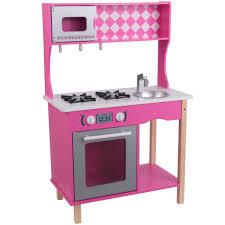 enchanteur cuisiniere bois jouet avec cuisine en bois miele grand