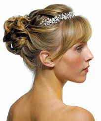 bridesmaid hairstyles for medium length hair wedding hairstyles ideas side ponytail curly updo fancy wedding