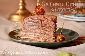 blogs cuisine facile gâteau de crêpes au chocolat facile le cuisine de samar