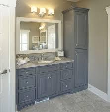 Bathroom Counter Organizers Creative Idea Bathroom Vanity With Storage Tower Om Home Design