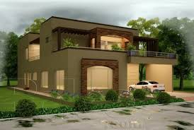 Maps 3D Front Elevation Construction & Interior Design