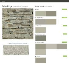 echo ridge pro fit alpine ledgestone cultured stone boral stone