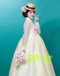 wedding dress korean hanbok dress custom made korean traditional woman hanbok
