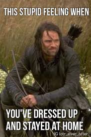 Funny Lotr Memes - lotr aragorn meme discovered by christina on we heart it