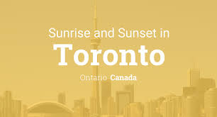 halloween city ontario canada sunrise and sunset times in toronto