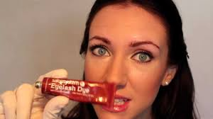 Mascara That Dyes Your Eyelashes How To Tint Dye Your Eyebrows At Home Youtube