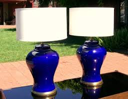 furniture awesome aqua blue table lamps design with adorable