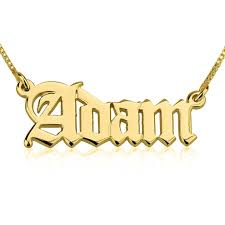 plated name necklace 24k gold plated script name necklace free shipping