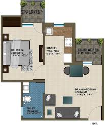 1025 sq ft 2 bhk 2t apartment for sale in krish aura sector 18