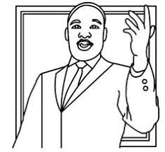 martin luther king jr free coloring pages and worksheets