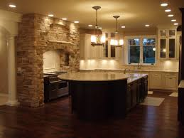 decor tips kitchen island and wooden countertops with interesting neo classical kitchen design with dark tone wooden island under f two chandelier having three tube