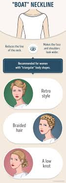 pictures of hairstyle neck line how to correctly combine your hairstyle and the neckline on your dress