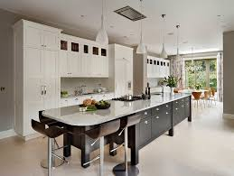 long kitchen kitchen farmhouse with pendant lighting white kitchen