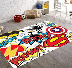 home decor kids superhero rug playroom rug superhero room decor kids playroom
