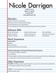 hr intern resume uxhandy com 8 dow peppapp