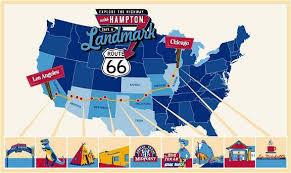 map us highway route 66 route 66 caravan america s road trip