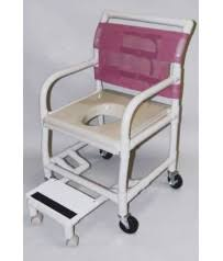 Shower Chair On Wheels Aesthetic And Portable Shower Commode Chair For Sale