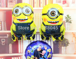 minions party supplies 2pcs lot minions foil balloons minions party supplies kids