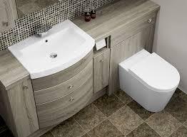 fitted bathroom ideas bardolino oak fitted bathroom furniture the mid oak colouring