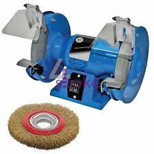 Bench Buffing Machine Bench Grinder Polisher Ebay