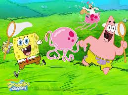 spongebob squarepants second best cartoon after the amazing world