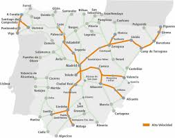 Burgos Spain Map by Renfe E Tickets Accesrail