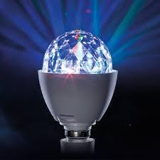 led disco ball light led disco ball rotating multi colour party light e27 or b22