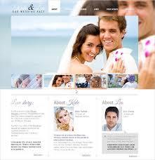 free wedding website 37 free wedding website themes templates free premium