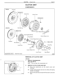 help with r154 clutch release hub clips and washers lexus is forum