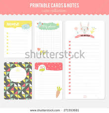 romantic love cards notes stickers labels stock vector 271250903