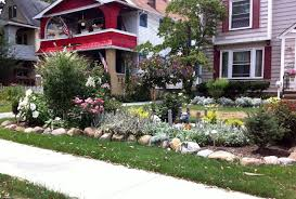 landscape ideas for front yard no grass low water landscaping