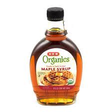 h u2011e u2011b organics dark amber maple syrup u2011 shop syrup at heb