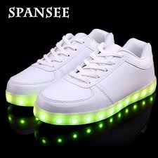 light up tennis shoes for size 30 45 on sale luminous glowing sneakers children kids led shoes