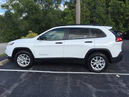 used lexus jeep in germany 2016 jeep cherokee sport 4wd for sale cargurus