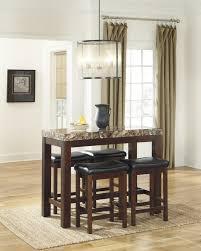 ashley d567 13 124 kraleene 5 piece rectangular dining room
