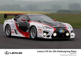 lexus lfa v10 yamaha lexus and gazoo racing compete together at nürburgring 24h race