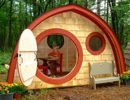 hobbit hole playhouses chicken coops sheds cottages saunas