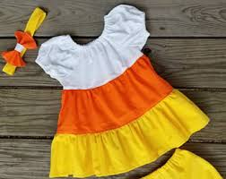 Candy Corn Halloween Costume Candy Corn Dress Etsy