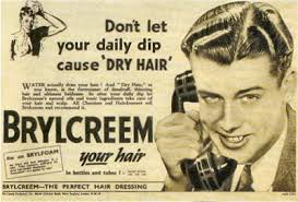 greaser hairstyle product old school men s hair products pomades brylecreem and hair