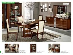 roma dining walnut italy modern formal dining sets dining room