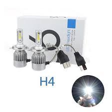 2017 new design high power led 72w 7600lm 6000k white bulbs