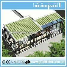 durable aluminum pergola retractable roof awning mechanism buy