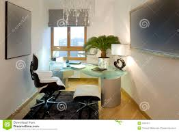 bureau free modern home office stock image image of decor lighting 7913437