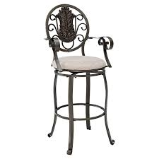 Bar Stool With Back And Arms 26 Best Bar Stools With Arms Images On Pinterest Swivel Bar