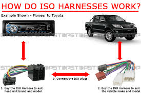 iso wiring harness for jvc kw r920bt kwr920bt cable connector lead